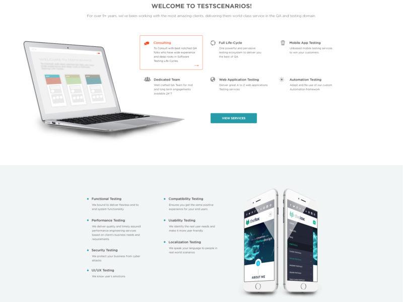 testscenario_homepage